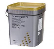 Супергипс FujiRock Golden Brown - золотой, класс 4-й, 5 кг (Япония)