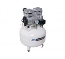 JW-032B безмасляный компрессор для 1 установки, с ресивером 45 л, 100 л/мин, без осушителя