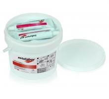 Zetalabor + Indurent gel (масса + катализатор) для использования в зуботехнической лаборатории. С-силикон 5кг+2х60гр