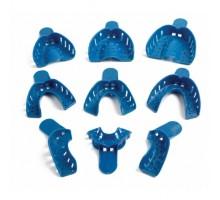 Ложки ортопедические для снятия слепков пластиковые - частичные 12 шт