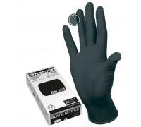 Перчатки Manual Black Nitril 117