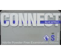 Перчатки нитриловые Connect Blue Nitrile