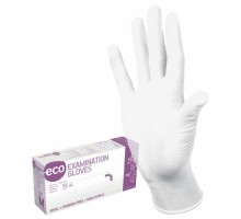 Перчатки одноразовые ECO VINYL. Виниловые