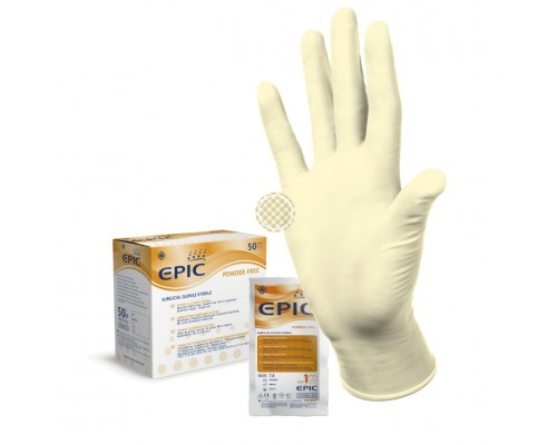 Перчатки Epic SG PF Стерильные