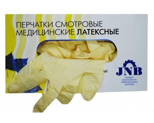 Перчатки смотровые  (латексные ) JNB