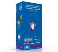 Перчатки Safe&Care LN 303 нитриловые ,100 пар в уп. PREMIUM