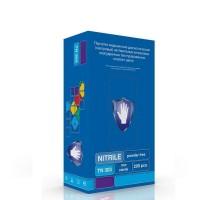 Фиолетовые нитриловые перчатки ( SAFE&CARE ) 200 шт