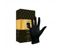 Черные нитриловые перчатки SAFE&CARE