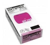 Перчатки нитриловые  неопудренные Manual SN 209