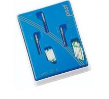 Штифты стекловолоконные EASY POST 1,0ММ Синие И Зеленые - НАБОР 24 ШТ, MAILLEFER