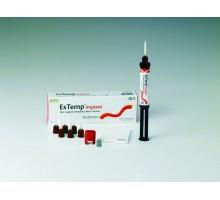 EsTemp Implant (ЭС ТЕМП ИМПЛАНТ) ( 1шприц 8 грамм + 6 смешивающих насадок + полипанель) Spident