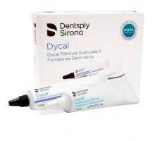 Лечебный прокладочный материал Dentsply Dycal  на основе гидроксида кальция (цвет слоновая кость)