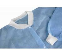 Халат хирургический стерильный, рукав на манжете - 140 см х 140 см