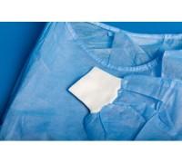Одноразовый халат хирургический ( рукава с манжетами ) 140x140